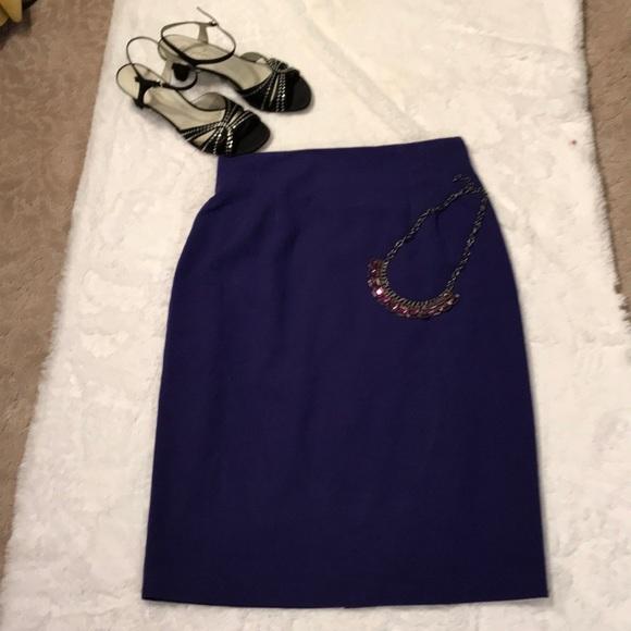 Norton McNaughton Dresses & Skirts - Purple pencil skirt